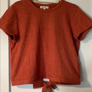 Madwell Burnt Orange Shirt